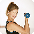 woman doing corrective exercises for better health